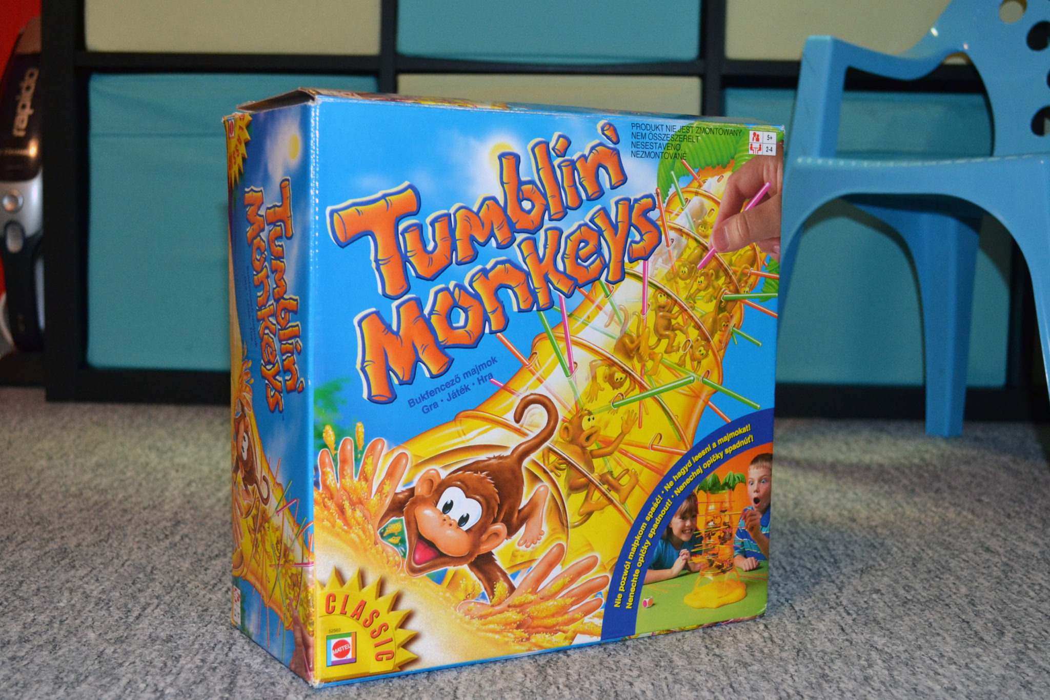 Padající Opičky Tumblin Monkeys
