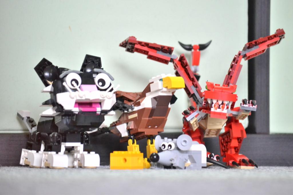 parta Lego zvířat