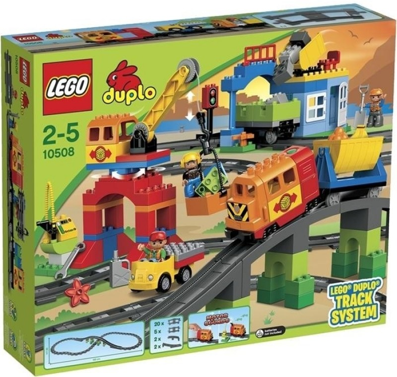 Duplo deluxe track system