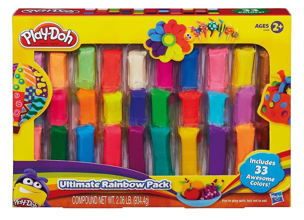 modelína Play-Doh (sada 33 barev – 563253)