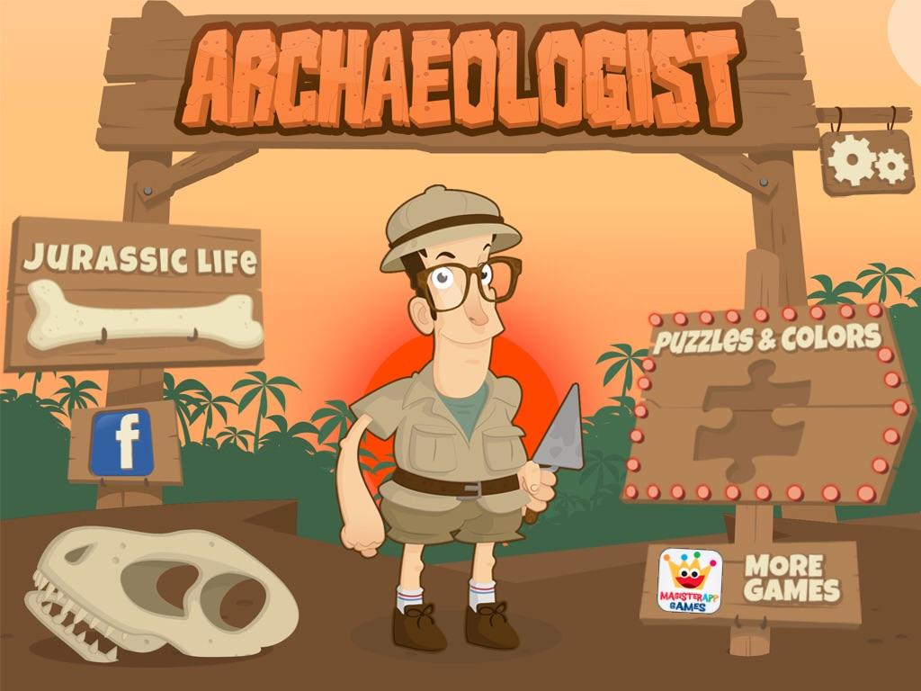 Archaeologist – Jurassic Life