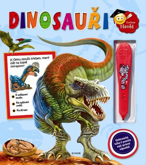 Dinosauři – kniha s elektronickou tužkou