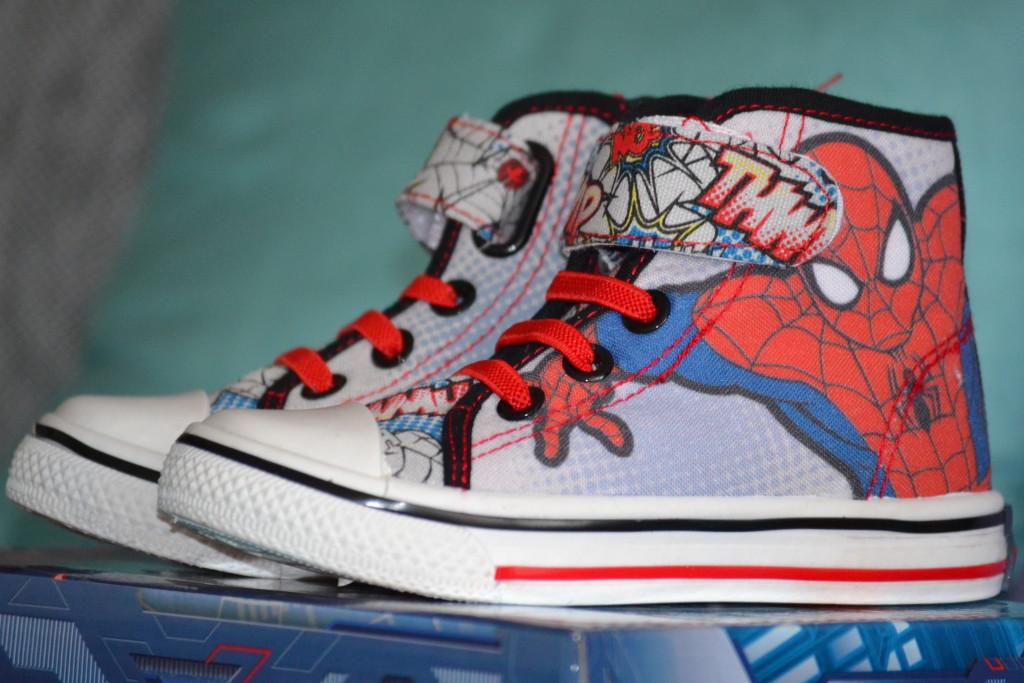 kotníkové tenisky se Spidermanem