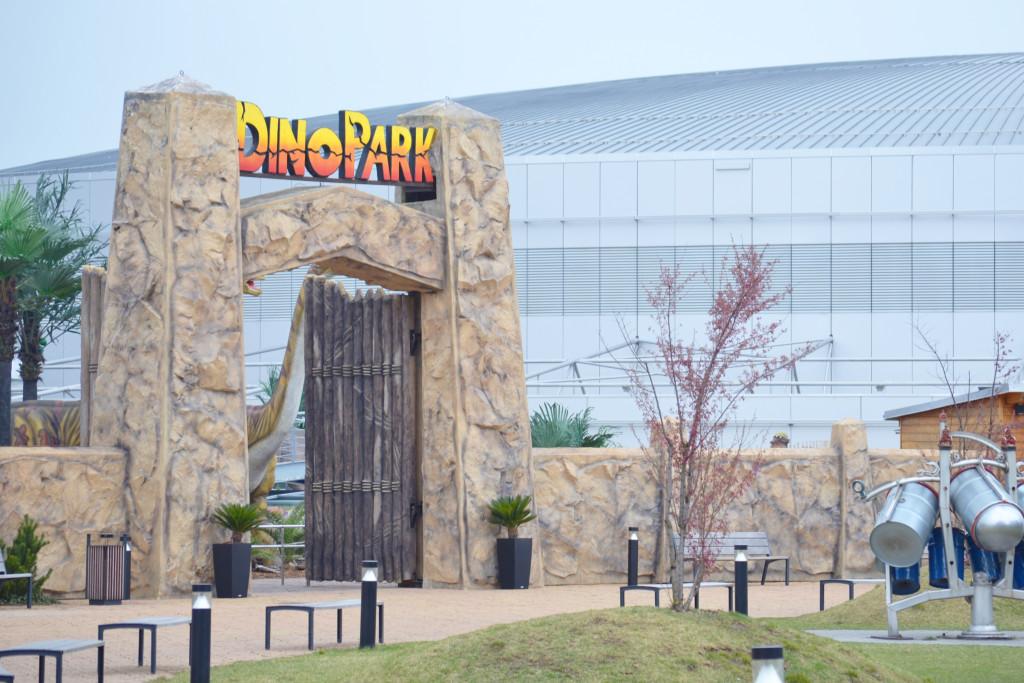 Dinopark - vstupní brána