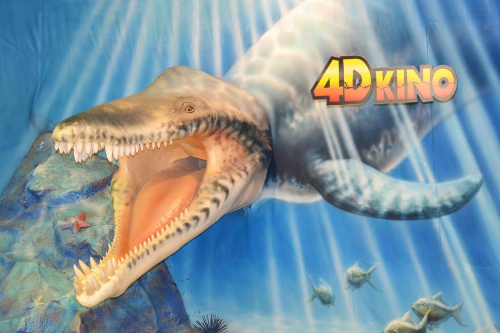 4D kino a dino-shop