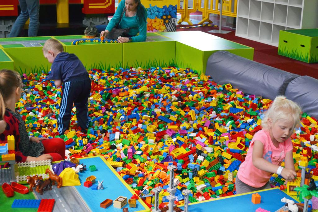Lego KidsFest kostičkové pískoviště
