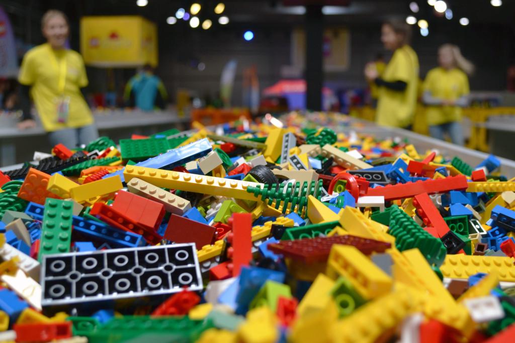 Lego KidsFest kostičky