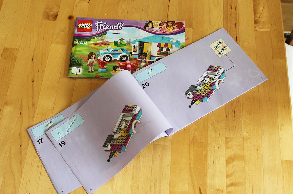 LEGO 41034 - obrázkový návod