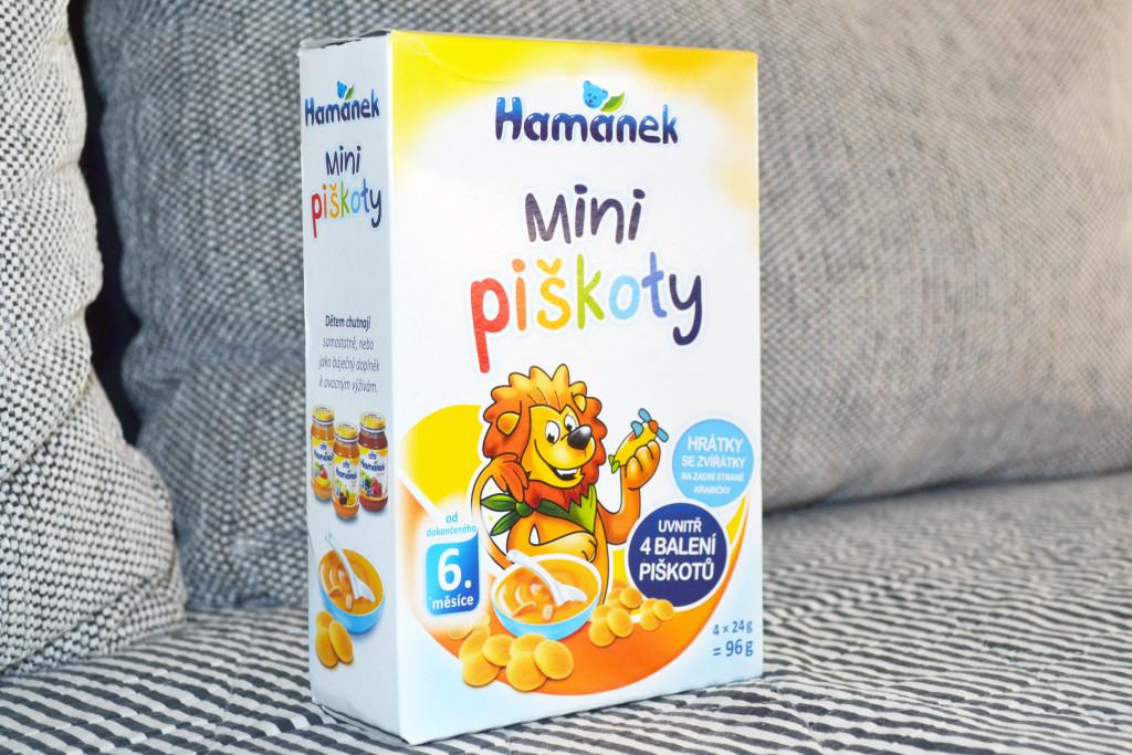 Hamánek - mini piškoty