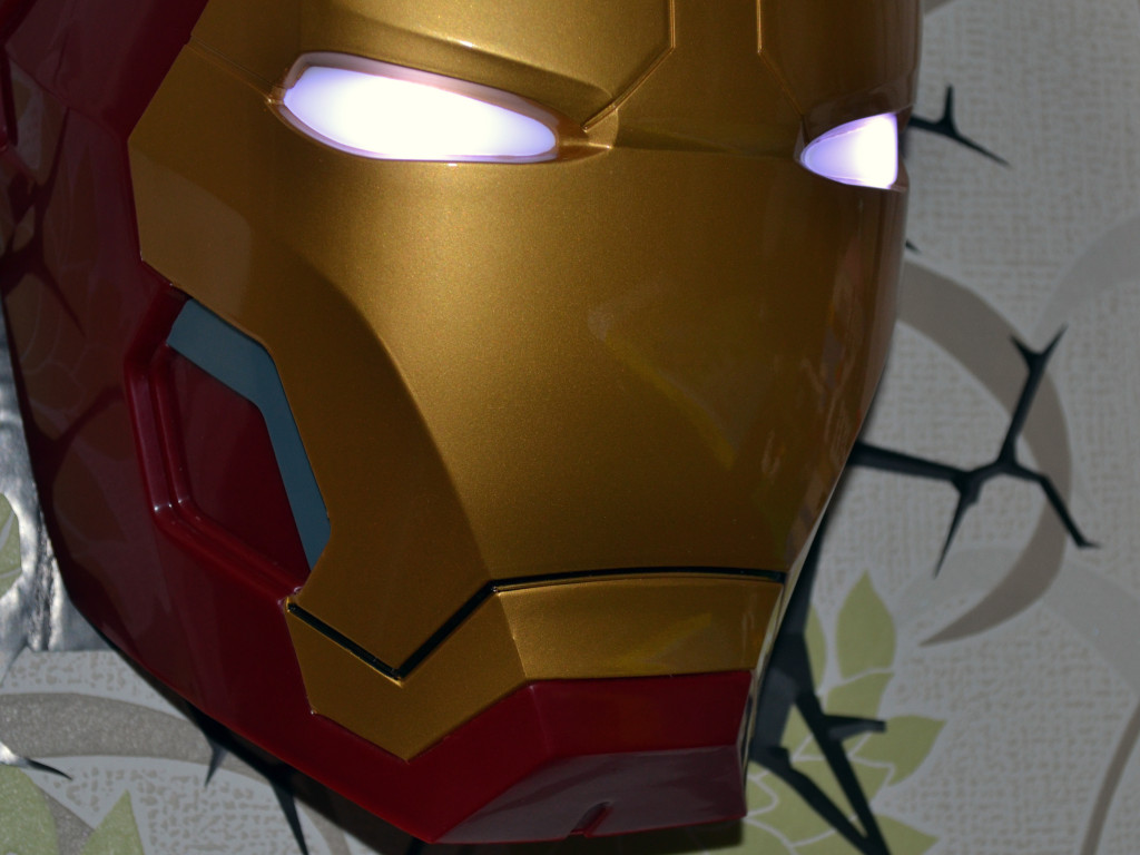 IronMan detail lapmičky