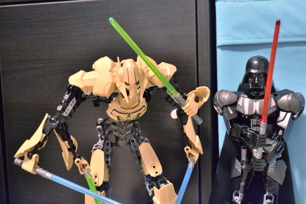 Lego Star Wars Darth Vader a generál Grievous