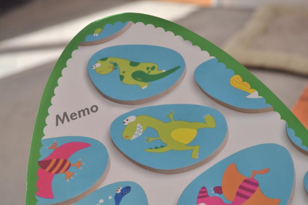 SCRATCH Memo Dino - víko krabice