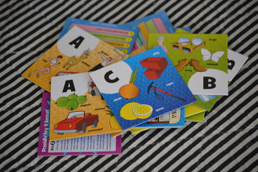 BrainBox abeceda - kartičky