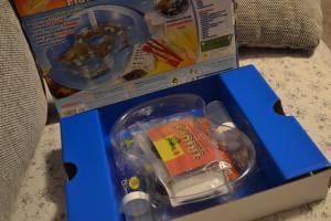 Pravěké akvárium Albi - obsah krabice